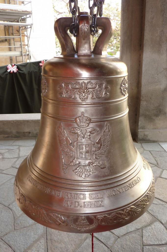 Donazione campane alla chiesa Russa di Sanremo